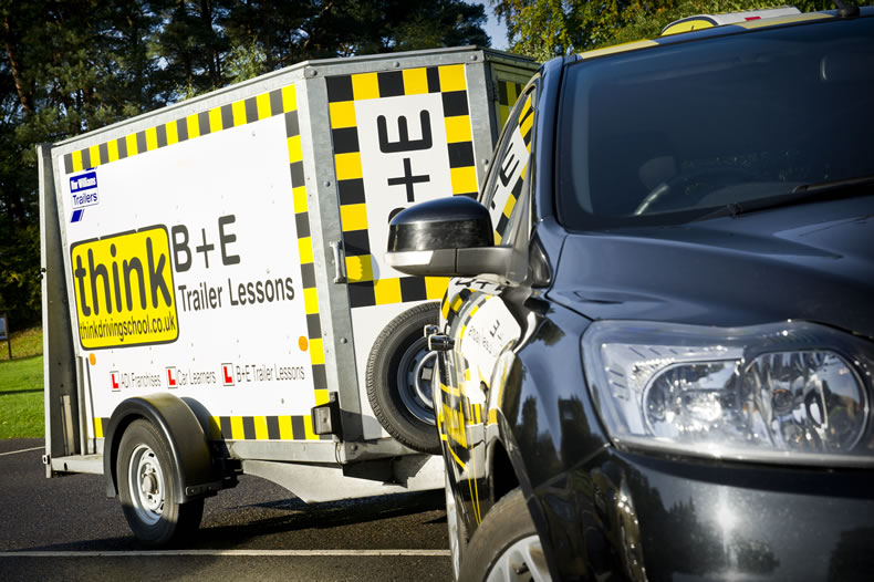 B+E lessons trailer lessons in bracknell and surrounding areas