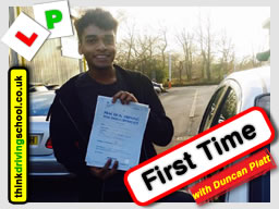 driving lessons Bracknell Stephen Towell think driving school May 2017