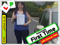 driving lessons Bracknell Stephen Towell think driving school january 2017