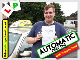 driving lessons Bracknell Stephen Towell think driving school August 2017