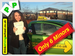 HArriet from Farnham passed with drivnig instructor from alton ian weir ADI