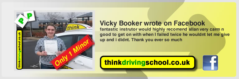 Vicky Booker Wrote this awesome review of allan bushell driving instructor from Ludlow