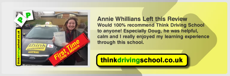 annie whilians left the awsome review of think driving school