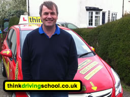 Driving instructor in Chertsey Jan Borzecki