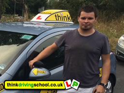 Driving instructor in Chertsey Pawel Planetorz