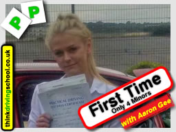 passed with driving instructor from Basingstoke Richard Cieslik ADI