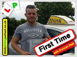 driving lessons Bracknell Stephen Towell think driving school
