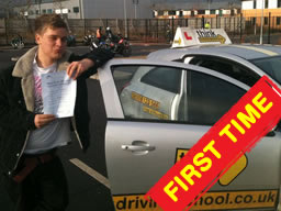 driving lessons bordon Ian weir Grade 6 driving instructor